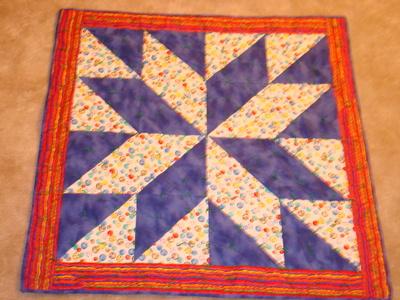 Paul's quilt, front